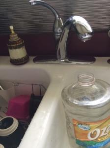 conserve water in kitchen